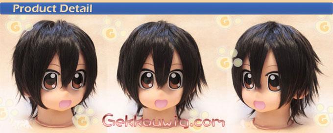 Sekaiichi Hatsukoi Cosplay Takano Masamune Black Straight Wig