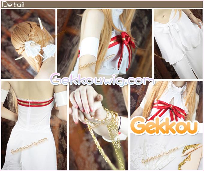 Sword Art Online Asuna Yuuki Imprisonment Costume