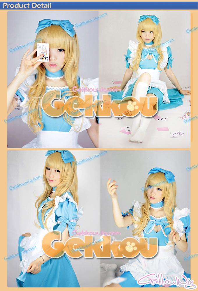 Alice in Wonderland Cosplay Alice Wig