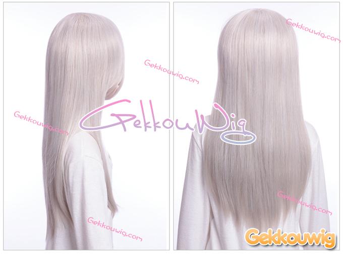 60CM White Wigs 4 Color Series